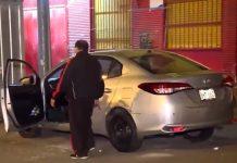 Taxista salió ileso de un feroz ataque con 11 balazos