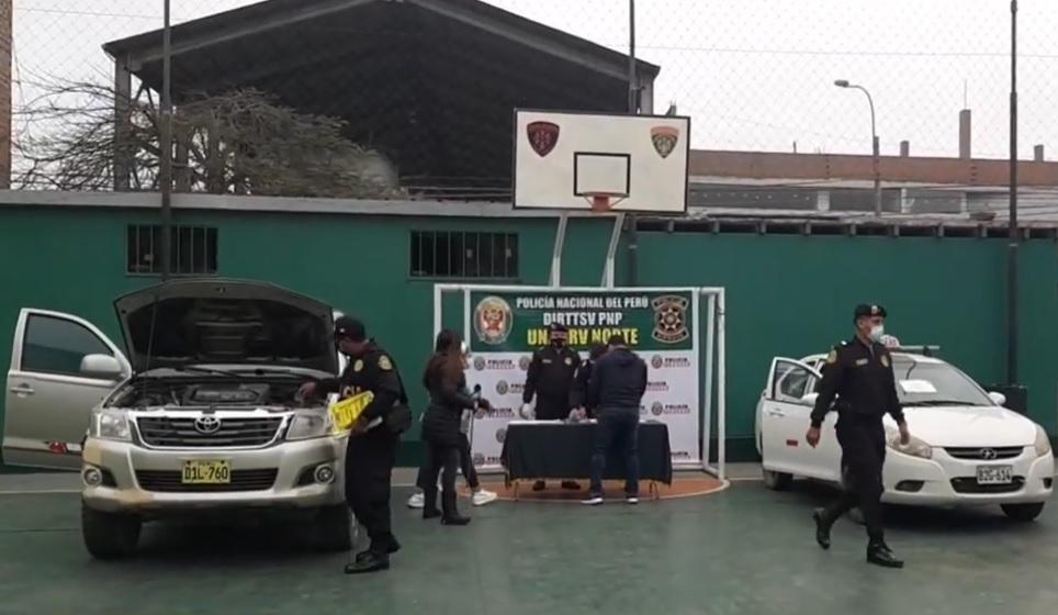 """""""Carroñeros"""" robaban camionetas con arma y bloqueador de GPS"""