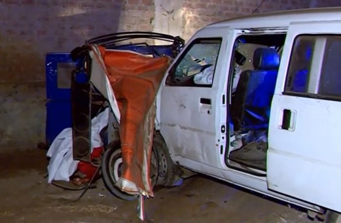 Buscan a conductor que atropelló y mató a papito e hija de 5 años