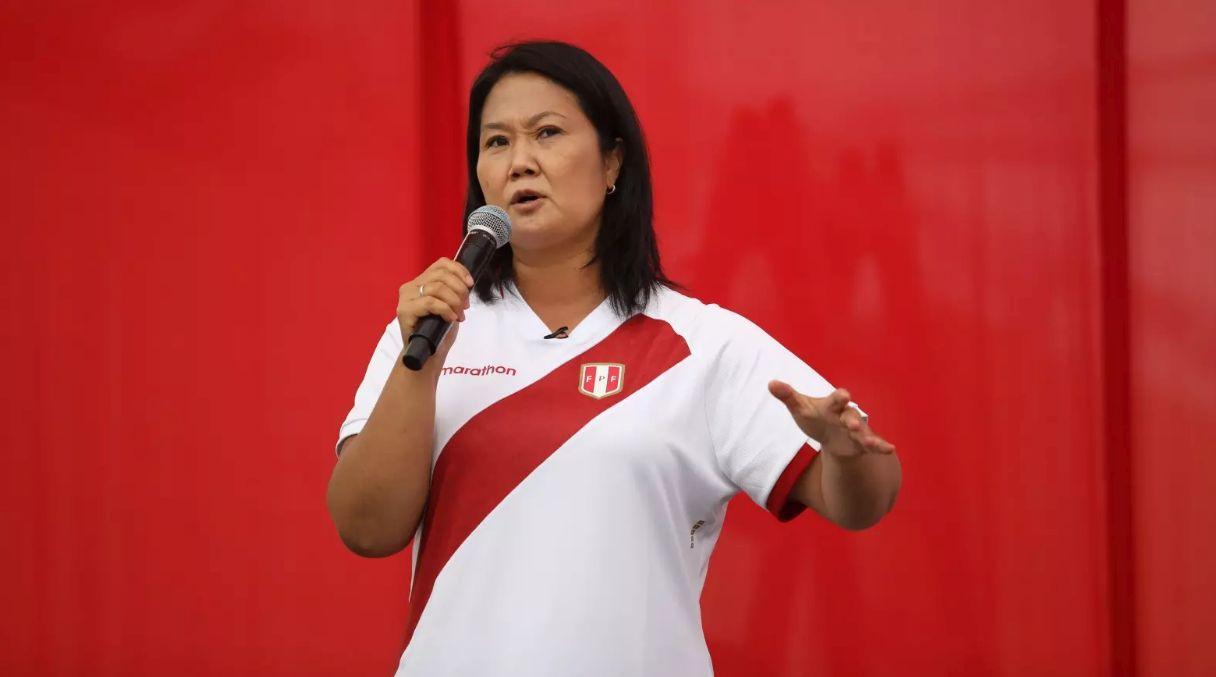 Keiko Fujimori participó en evento de Vox